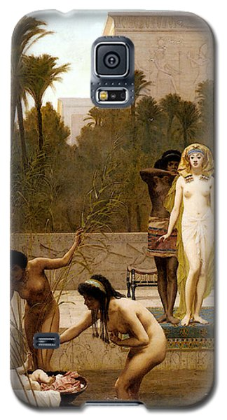 Goodall Frederik The Finding Of Moses Galaxy S5 Case by Frederick Goodall