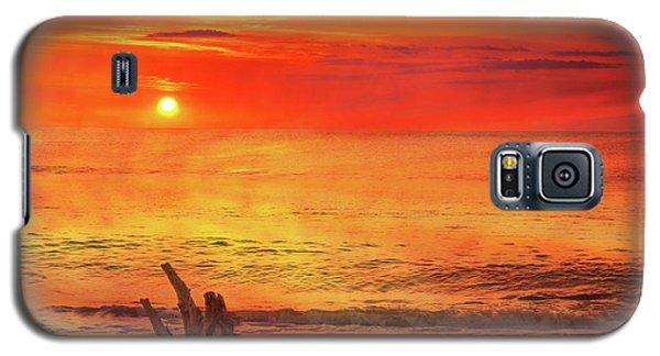 Galaxy S5 Case featuring the digital art Goodbye Day by Randy Steele