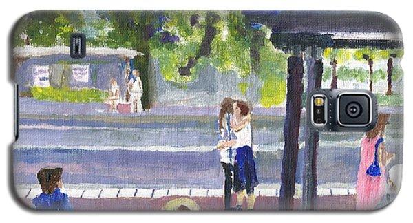 Goodbye Kiss In Gothenburg Sweden Galaxy S5 Case