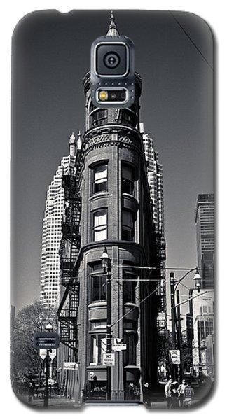 Gooderham Flatiron Building Toronto Canada Galaxy S5 Case by Brian Carson