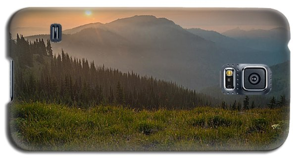 Goodnight Mountains Galaxy S5 Case