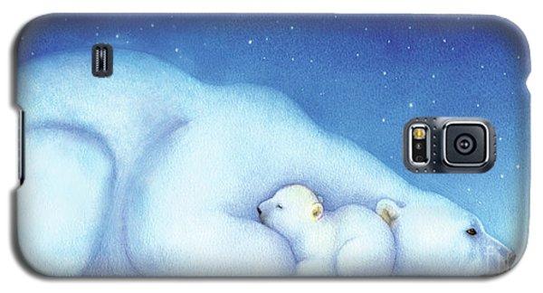 Arctic Bears, Goodnight Nanook Galaxy S5 Case by Tracy Herrmann
