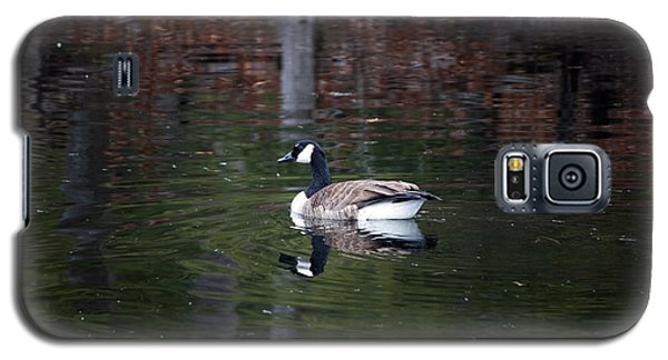 Goose On A Pond Galaxy S5 Case