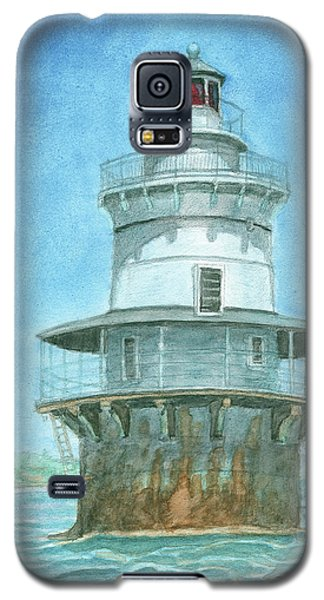 Goose Rocks Light At High Tide Galaxy S5 Case