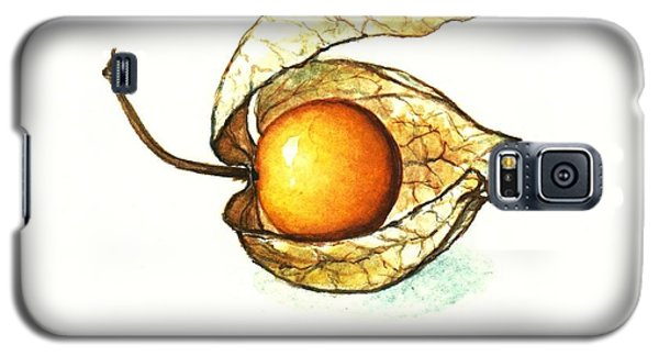 Galaxy S5 Case featuring the painting Gooseberry by Heidi Kriel