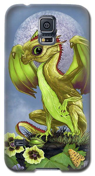 Galaxy S5 Case featuring the digital art Gooseberry Dragon by Stanley Morrison