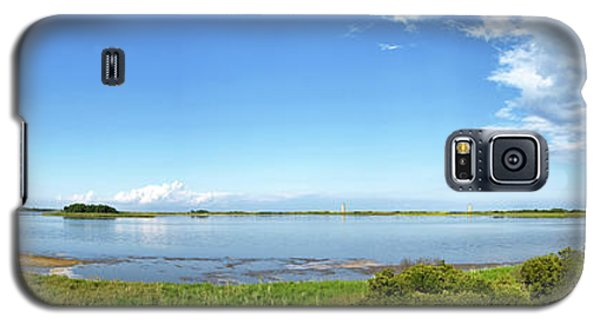 Galaxy S5 Case featuring the photograph Gordons Pond Panorama - Cape Henlopen State Park - Delaware by Brendan Reals
