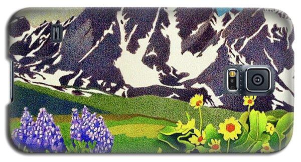 Gore Range Wildflowers Galaxy S5 Case