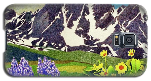 Gore Range Wildflowers Galaxy S5 Case