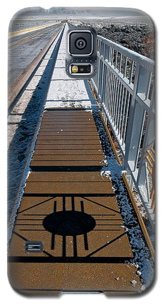 Gorge Bridge Zia Symbol Galaxy S5 Case by Britt Runyon