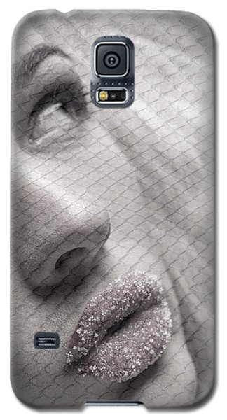 Gorgeous Girl With Sugar On Her Lips Galaxy S5 Case by Michael Edwards