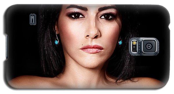 Gorgeous Woman Portrait Galaxy S5 Case