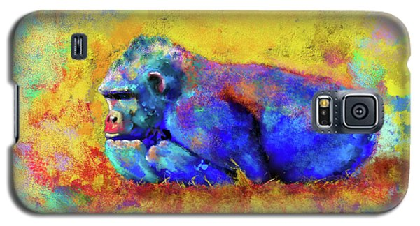 Galaxy S5 Case featuring the photograph Gorilla by Test