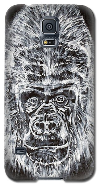Galaxy S5 Case featuring the painting Gorilla Who? by Fabrizio Cassetta