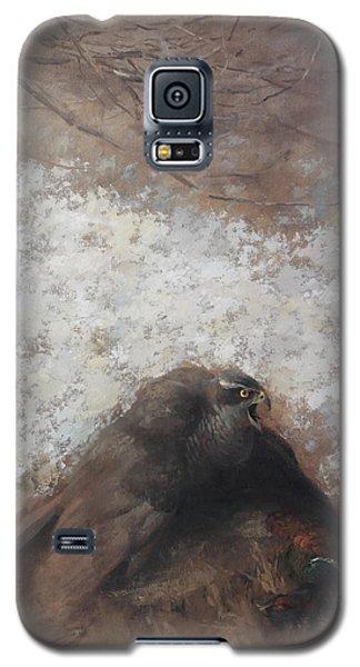 Goshawk And Pheasant Galaxy S5 Case