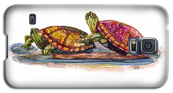 Spring Turtles Galaxy S5 Case