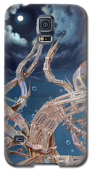 Gothic Genome Galaxy S5 Case