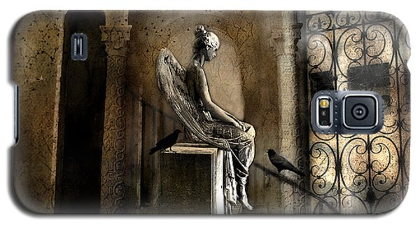 Gothic Surreal Angel With Gargoyles And Ravens  Galaxy S5 Case