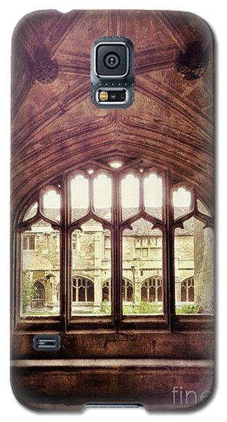 Galaxy S5 Case featuring the photograph Gothic Window by Jill Battaglia