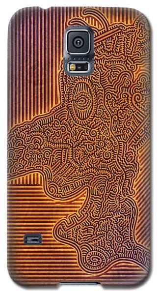 Gotta Draw The Line Somewhere Galaxy S5 Case