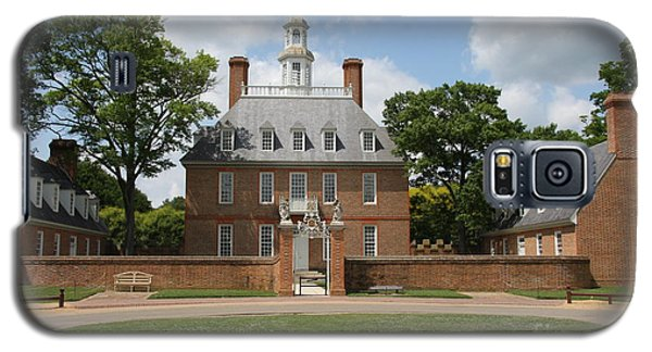 Governers Palace - Williamsburg Va Galaxy S5 Case by Christiane Schulze Art And Photography