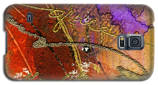 Galaxy S5 Case featuring the mixed media Grace by Angela L Walker