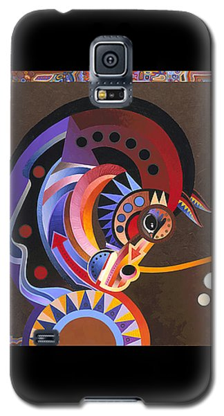 Galaxy S5 Case featuring the painting Grace by Bob Coonts