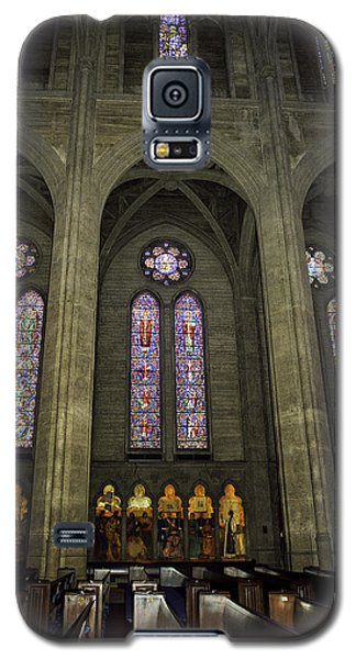 Grace Cathedral Stained Windows Galaxy S5 Case