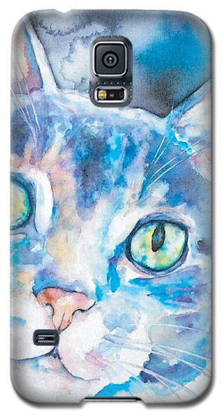 Galaxy S5 Case featuring the painting Grace by Christy Freeman