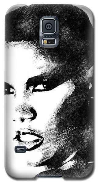 Grace Jones Bw Portrait Galaxy S5 Case
