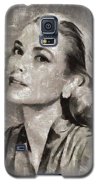 Grace Kelly By Mary Bassett Galaxy S5 Case