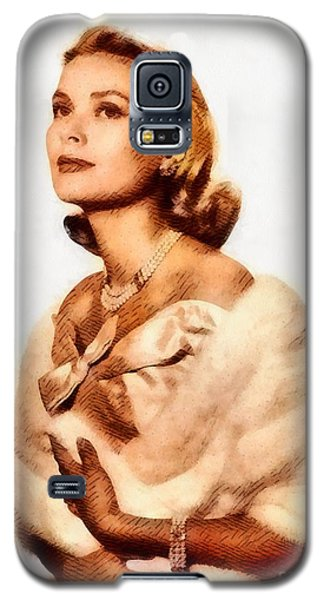 Grace Kelly, Vintage Actress By John Springfield Galaxy S5 Case