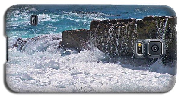 Grace Of The Waves Galaxy S5 Case by Debra     Vatalaro