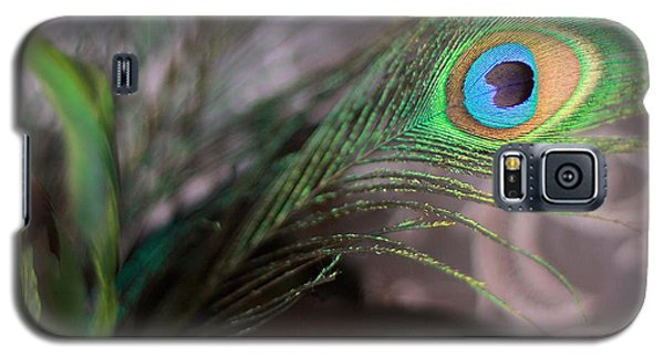 Graceful Peacock Feather Galaxy S5 Case