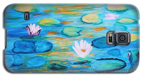 Graceful Pond From The Water Series Galaxy S5 Case