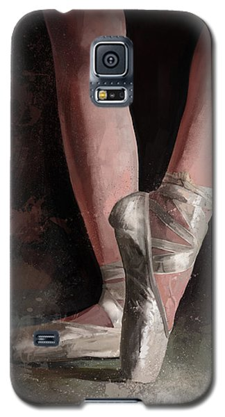 Galaxy S5 Case featuring the digital art Graceful Slippers by Steve Goad