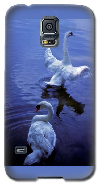 Graceful Swans Galaxy S5 Case by Marie Hicks