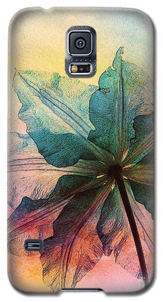 Galaxy S5 Case featuring the digital art Gracefulness by Klara Acel