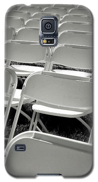 Graduation Day- Black And White Photography By Linda Woods Galaxy S5 Case by Linda Woods