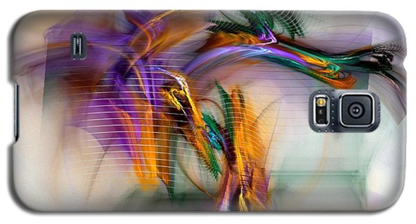 Graffiti - Fractal Art Galaxy S5 Case by NirvanaBlues