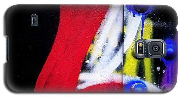 Graffiti On Iron Galaxy S5 Case