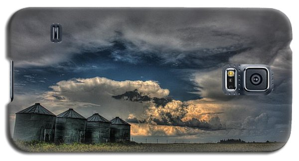 Grain Bins Galaxy S5 Case