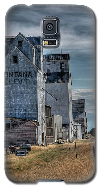 Grain Elevators, Wilsall Galaxy S5 Case