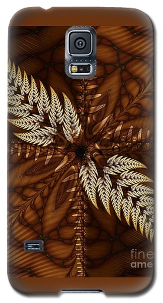 Galaxy S5 Case featuring the digital art Grain Harvest by Michelle H