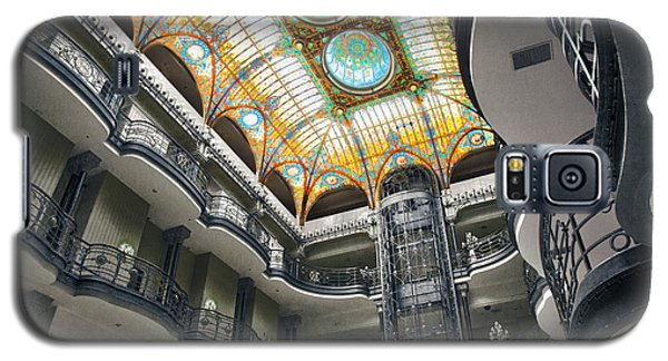 Galaxy S5 Case featuring the photograph Gran Hotel by John  Bartosik