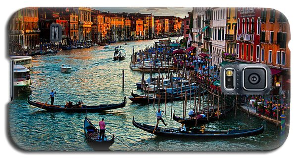 Grand Canal Sunset Galaxy S5 Case by Harry Spitz