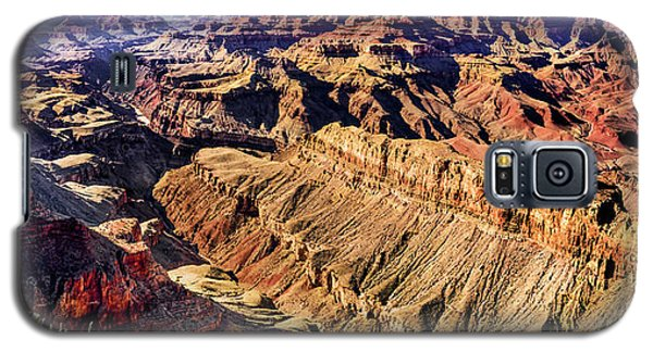 Grand Canyon Afternoon At Lipan Point Galaxy S5 Case