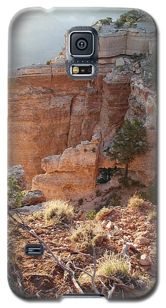 Galaxy S5 Case featuring the photograph Grand Canyon Bluff by Nancy Taylor