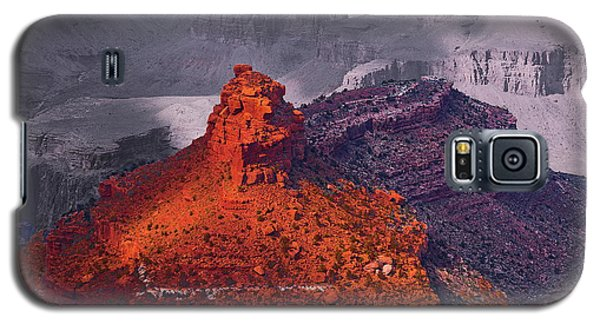 Grand Canyon In Red And Blue Galaxy S5 Case