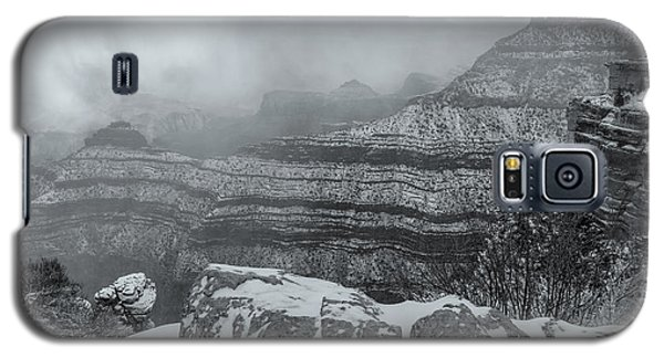 Grand Canyon In The Fog Galaxy S5 Case